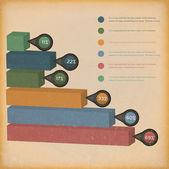 Colorful diagram — Stock Vector