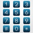 Telephone Keypad — Stock Vector #24663813