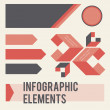 Infographic elements — Vector de stock #24664181