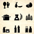 Stock Vector: Product icons