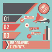 Business infographic elements — Cтоковый вектор