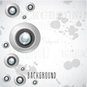 Camera lens background — Stock Vector