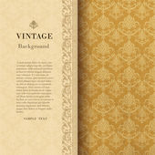 Vintage background — Vector de stock