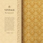 Vintage bakgrund — Stockvektor