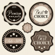 Royalty-Free Stock Vector Image: Retro vintage badges and labels.