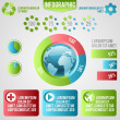 Royalty-Free Stock Immagine Vettoriale: Ecology info graphics