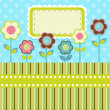 Vector floral background. — Stock Vector #25242421