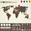 set of infographic elements — Stock Vector #25256353