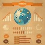 Vector set of infographic elements — Stock Vector #25257729