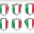 Royalty-Free Stock Vector Image: Italian safety label vector