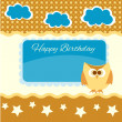 Happy birthday vector background — Stock Vector #25258945