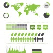 Ecology infographics set — Stock Vector