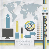 Elements of infographics. — Stock Vector
