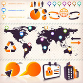 Infographics elements — Stockvektor