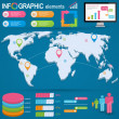 Set elements of infographics — Stock Vector #25354377