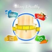 Health concept. — Stock Vector