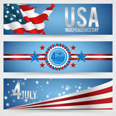 Independence Day- 4 of July — Stock Vector