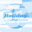Holiday image — Stock Vector