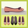 Shoes vintage illustration — Stock Vector #25968603