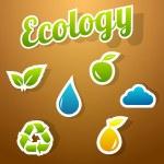 Ecology icon set — Stock Vector #25968745