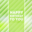 Happy birthday poster — 图库矢量图片