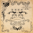 Vintage design elements set — Stock Vector #25969151