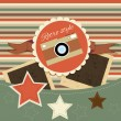 Vector de stock : Vintage background