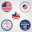 Usa independence day — Stock Vector