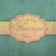Stock Vector: Vintage label background