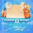 Summer holiday background — Stock Vector #26235961