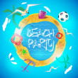 Summer holiday background — Stock Vector #26235973