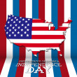 USA independence day symbols  — Stock Vector #26236159