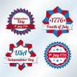 USA independence day symbols — Stock Vector #26236189