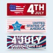 USA independence day symbols — 图库矢量图片 #26236207