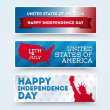 USA independence day symbols — Stock Vector #26236215