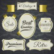 Royalty-Free Stock Vector Image: Set of vector labels