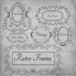 Retro frame — Stock Vector