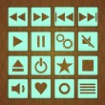 Play button — Stock Vector