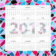 Background calendar - Stock Vector