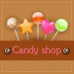Candy shop — Stock Vector
