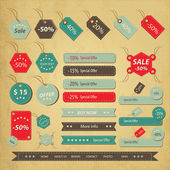 Sale lable — Stock Vector