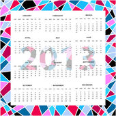 Background calendar — Stock Vector