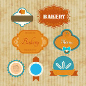 Label bakery — Stock Vector