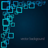 Vector background with squares. — Stock Vector
