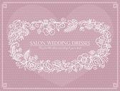 Label for wedding dresses salon — Stock Vector