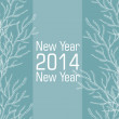 New 2014 year vector card — Stock Vector #34052213