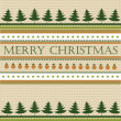 Christmas background — Vector de stock #34052677