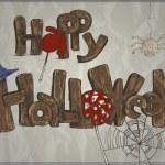 Happy Halloween card — Stock Vector #34052745