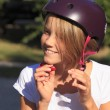 Wear a helmet — 图库照片
