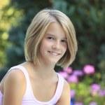 Pretty teenager girl — Stock Photo
